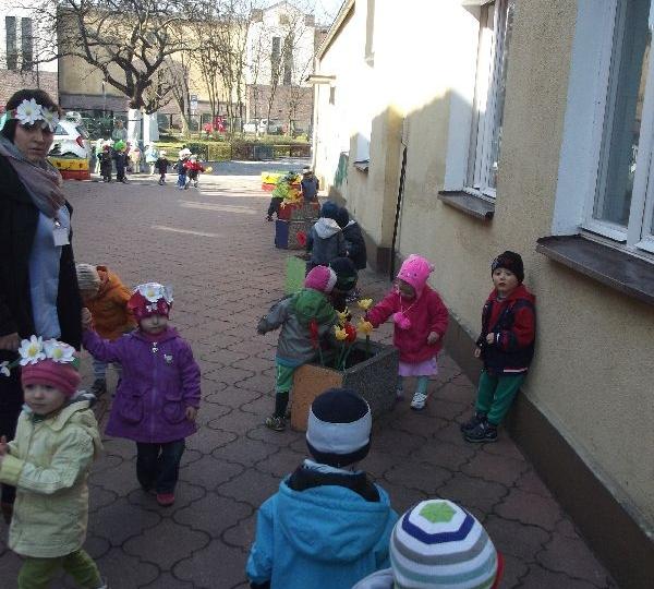 Pierwszy dzień wiosny - Gr.3