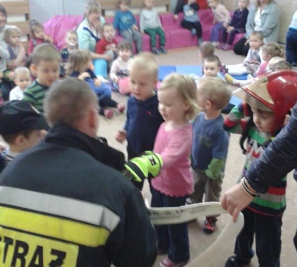 Wizyta strażaka